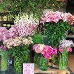 Nikoraibagumannomu - お花が溢れる店内^ ^             色とりどりな花がグラデーションのようで、虹がかかったように美しいです♡