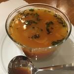 メノン - ダール トマトラッサムスープ