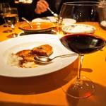 洋食の店 橋本 - 赤ワイン(グラス)