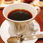 甘味茶屋 七葉 - コーヒー:エチオピア産(650円:セットの場合は400円)