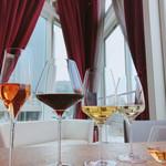 星期菜 - ワイングラスで楽しむ水出し冷茶