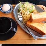 喫茶 こまち - 料理写真:モーニング(全体)