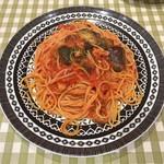 パステルイタリアーナ - 揚げ茄子とベーコンのトマトソース(LL)