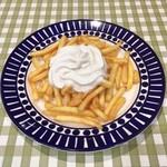 パステルイタリアーナ - フライドポテトとトリュフ風味のエスプーマソース