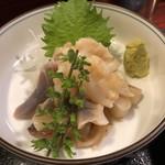 天ぷら新宿つな八 - 北寄貝