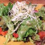 オステリア・ブーコ - ランチセットのサラダ