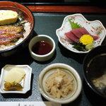 鰻・割烹豊りょう - 三色丼セット