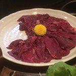 うま虎 - 桜なべのお肉