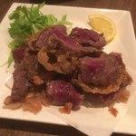 うま虎 - 馬肉の唐揚げ680円