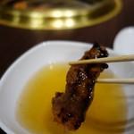 天壇  - (2018/1月)お出汁につけて食べる焼肉