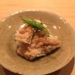 蓮 - 穴子のお寿司かな