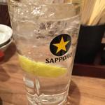 倉蔵商店 - レモンサワー