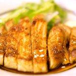 81008905 - 豚ロース生姜焼き 850円 の豚ロース生姜焼き