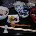 ママの森 たむら亭 - 炊き込み膳1800円