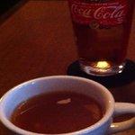 OATMAN DINER - ランチスープとドリンク