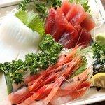 あぶり亭 - 料理写真:お刺身の盛合せ