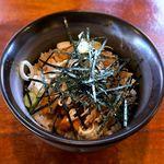 大正麺業 - チャーシュー丼¥200 2017.12.30