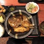 むちゃく - 魚のアラ炊き定食=800円 税込