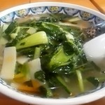 81013230 - 青菜そば¥870