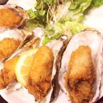 Gyoshoutakaaki - 殻付き牡蠣フライ