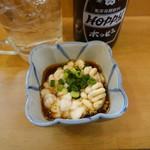 立呑み 晩杯屋 - 白子ポン酢(250円)