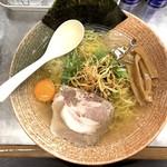 覆麺 智 - ホッキ貝出汁 塩(900円)
