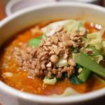 中華旬彩 森本 - タンタン麺は子どもはギリかと