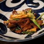 中華旬彩 森本 - コース 牛肉