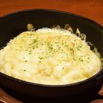 フレンチ小料理バル megane - チーズ香るラクレットリゾット