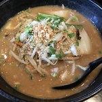 行者ラーメン 熱人G麺 - 料理写真:濃厚味噌野菜ラーメン
