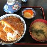 角満食堂 - 料理写真:カツ丼950円