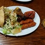 グリーンインドレストラン - タンドールスナック&生ビールセット