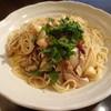 フルッターレ - 料理写真:きのこの梅風味ペペロンチーノ