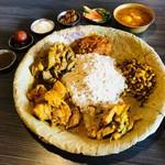 ネパール民族料理 アーガン - ネワリボジセット(1,680円)