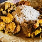 ネパール民族料理 アーガン - ネワール族の代表的な食事!