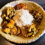 ネパール民族料理 アーガン - 出ましたチウラ(干し飯)!