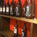 名古屋もつ焼き ひとすじ - ひとすじ焼酎(麦)(芋) オリジナル焼酎