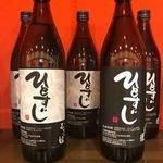 名古屋もつ焼き ひとすじ - ひとすじ焼酎(麦)(芋) グラス/ボトル