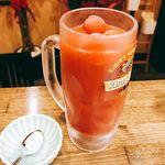 名古屋もつ焼き ひとすじ - 凍結プチトマトサワー
