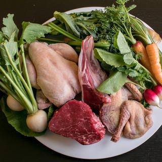 【地元野菜と厳選食材】丁寧な手仕事を感じる、本物の料理たち。