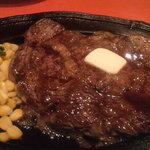 メキシコ ダイニングレストラン ブロンコ - ステーキ220g(パン又はライス付き)1,260円