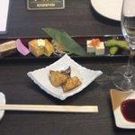牛庵 - コースの前菜
