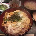 幸せごはん - カツ丼1,000円(ランチ)