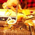 浜焼太郎 - イカを焼いたのはバター醤油がよかった!