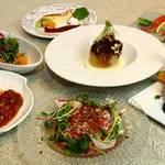 鉄板焼 芽里 - 料理写真:贅沢ランチコース