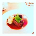 ミュスカ - 牛ホホ肉の赤ワイン煮込み