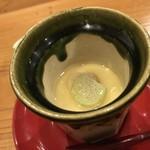 81032345 - あさりの茶碗蒸し。
