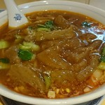 華都飯店 - 牛筋麺