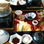 浦嶋荘 - 料理写真:ランチの御膳