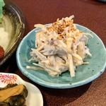 ジャム cafe 可鈴 - ごぼうとツナの胡麻サラダ